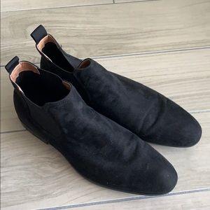 H&M Black Male Short Boots